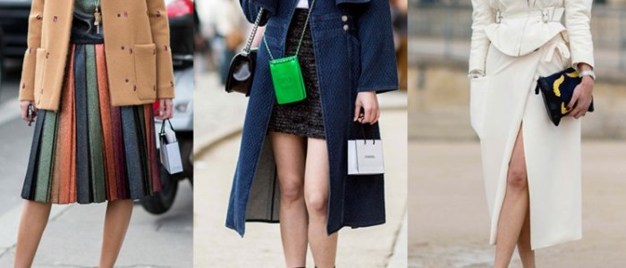 10 Paris Fashion Week Streetstyle Skirt Outfits You Have got to See!