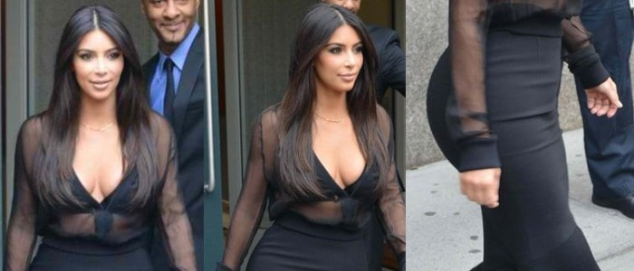 Is Kim Kardashian's Pencil Skirt Style Getting Too Old?