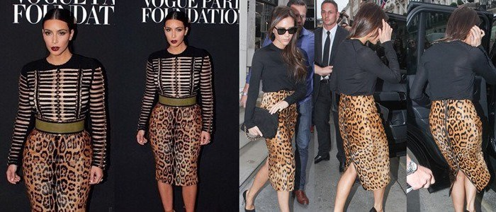 Who Looked Best in the Balmain Leopard-Print Skirt?