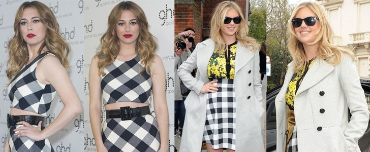 Kate Upton and Blanca Suarez in Gingham Skirt: Who Wore it Better?
