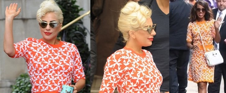 Kerry Washington vs. Lady Gaga in Tanya Taylor Matching Separates