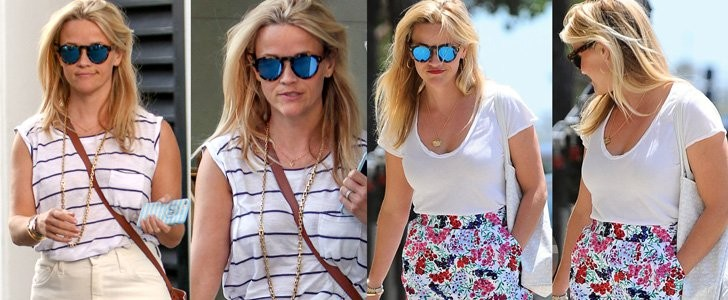 2 Ways Reese Witherspoon Styled Her Favorite Summer Skirt