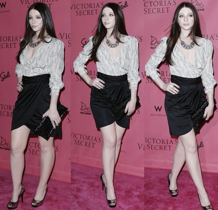 Michelle Trachtenberg at Victoria's Secret Supermodels Celebrate the Reveal of the 2010 'What Is Sexy?' List held at Drai's at W Hollywood Hotel in Hollywood on May 11, 2010