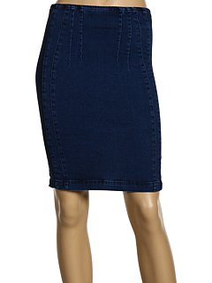 7 For All Mankind Pencil Skirt with Paneling Detail