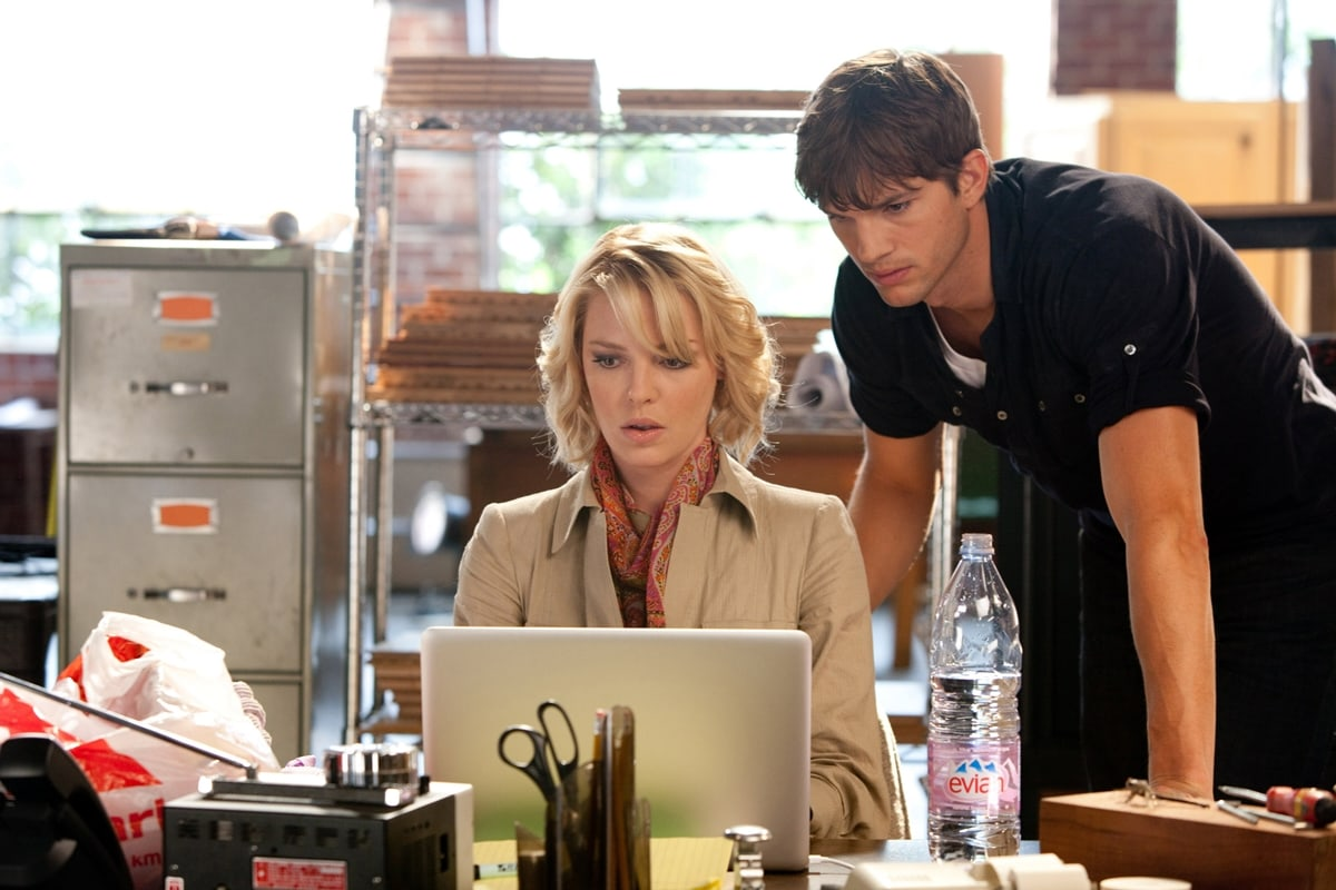 Katherine Heigl was 31 and Ashton Kutcher was 32 when starring in the 2010 American action comedy film Killers