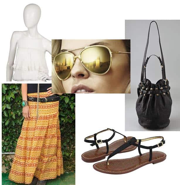 Vanessa Hudgens' boho-chic outfit