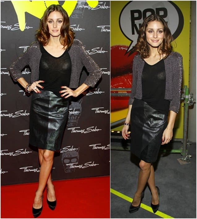 Olivia Palermo attends the launch party for Thomas Sabo's Sterling Silver collection S/S 2011