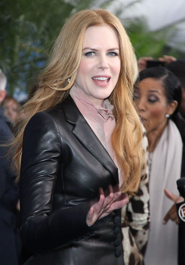Nicole Kidman at the premiere of 'Just Go With It' at the Ziegfeld Theatre in New York City