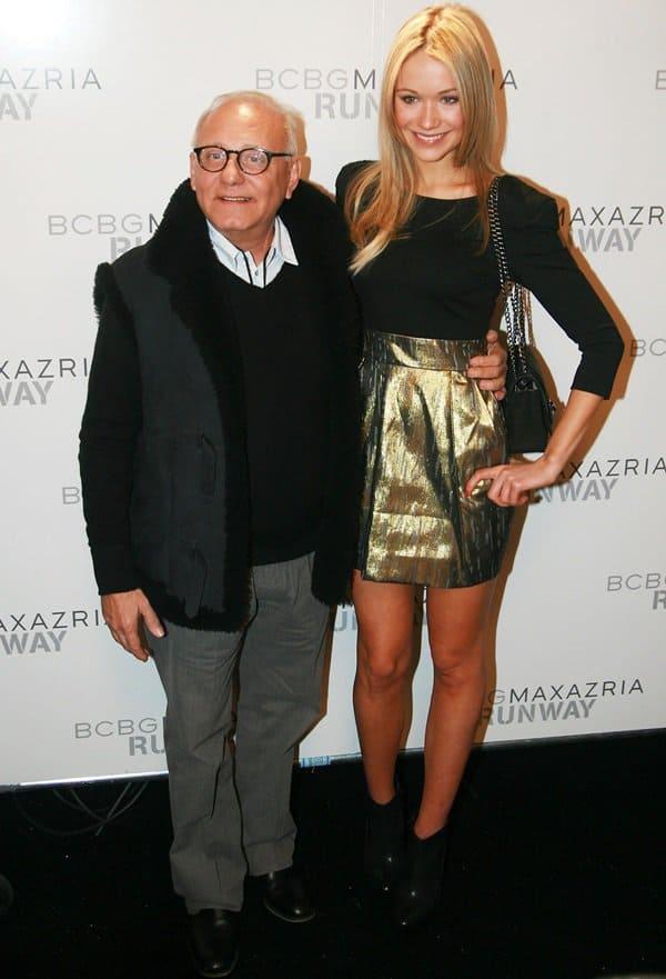 Max Azria and Katrina Bowden
