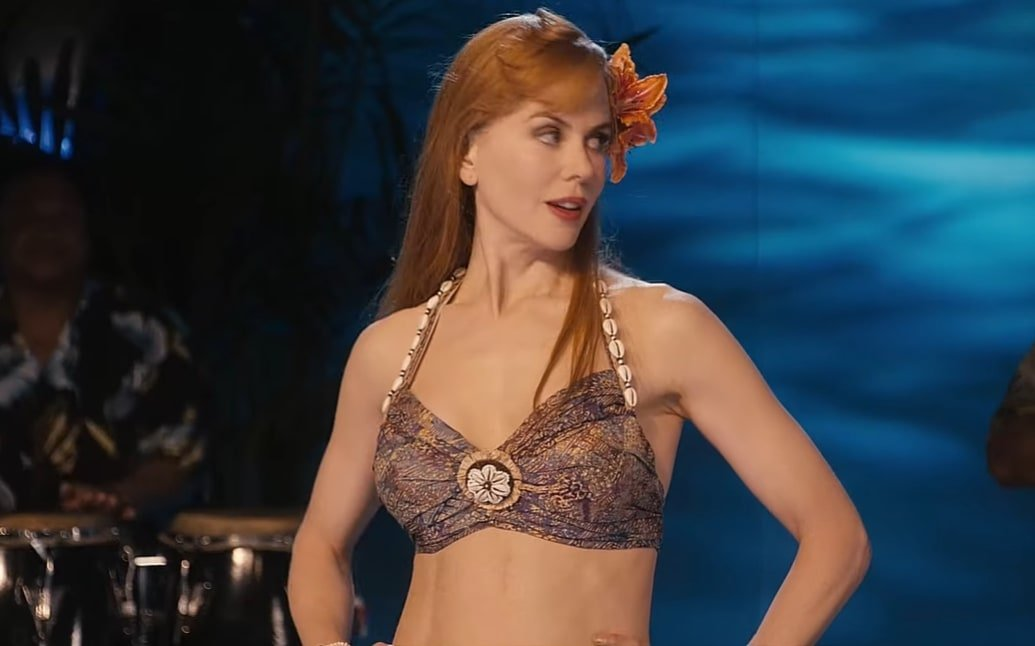 Nicole Kidman was 42 years old when filming Just Go With It as Devlin Adams