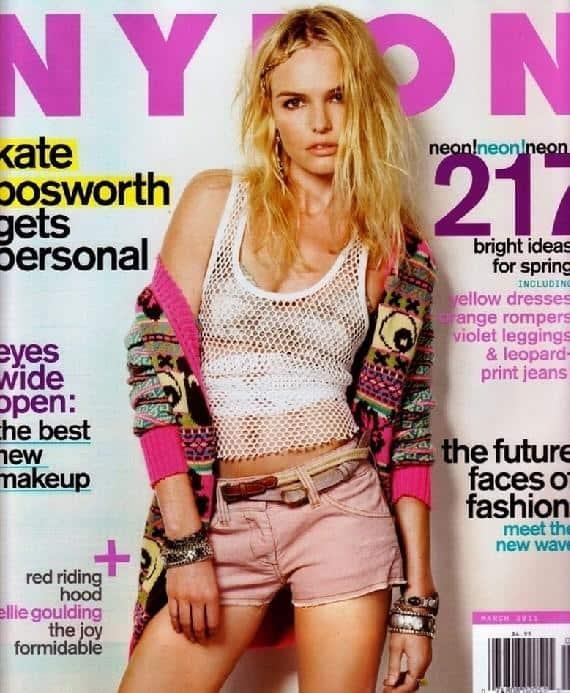 Nylon Kate Bosworth