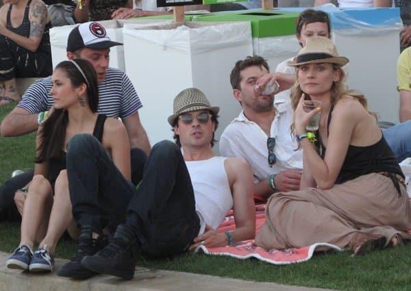 Diane Kruger Coachella Music Festival
