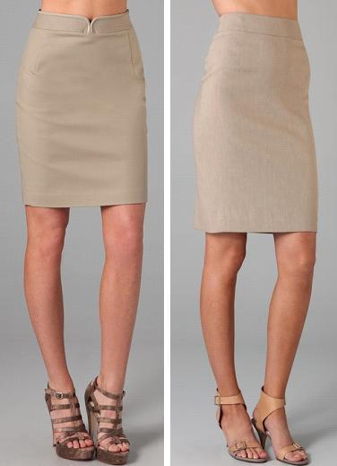 Elie Tahari Alyssa Skirt and Theory Joanie Skirt