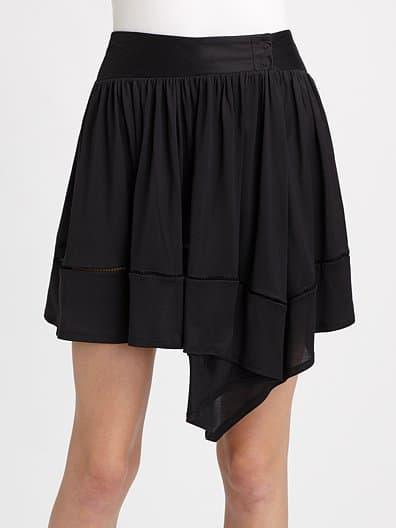 Jeffrey Monteiro Flip Silk Jersey Skirt