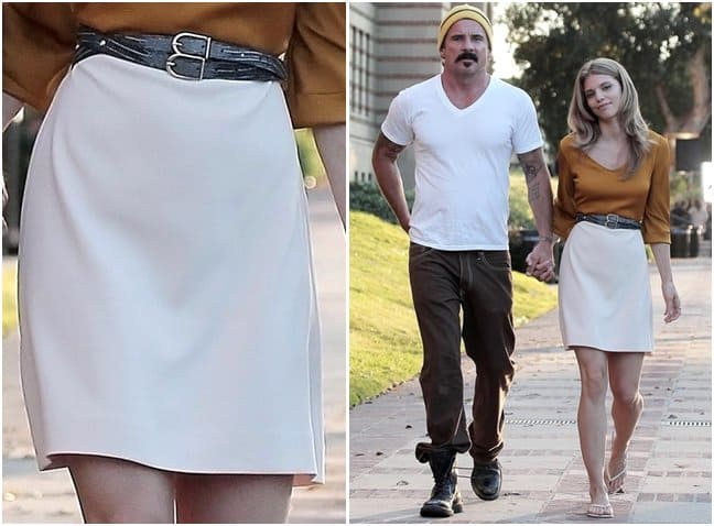 AnnaLynne McCord on a date with her new boyfriend Dominic Purcell