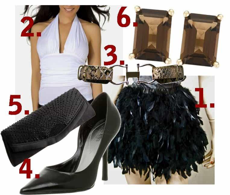 Outfit inspired by Kim Kardashian