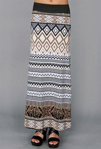 West Coast Wardrobe Chevron Skirt