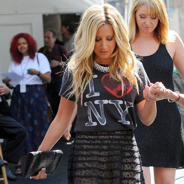 "Ashley Tisdale's ""I Love New York"" tee"