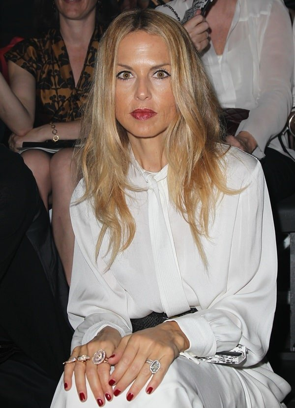 Rachel Zoe attended the Christian Dior show during Paris Fashion Week