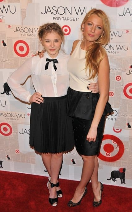 Blake Lively and Chloe Moretz attend Jason Wu For Target Private Launch Event