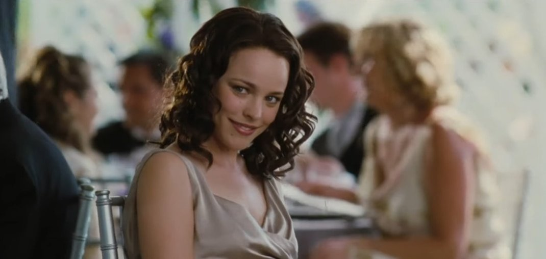 Rachel McAdams as Claire Cleary in Wedding Crashers