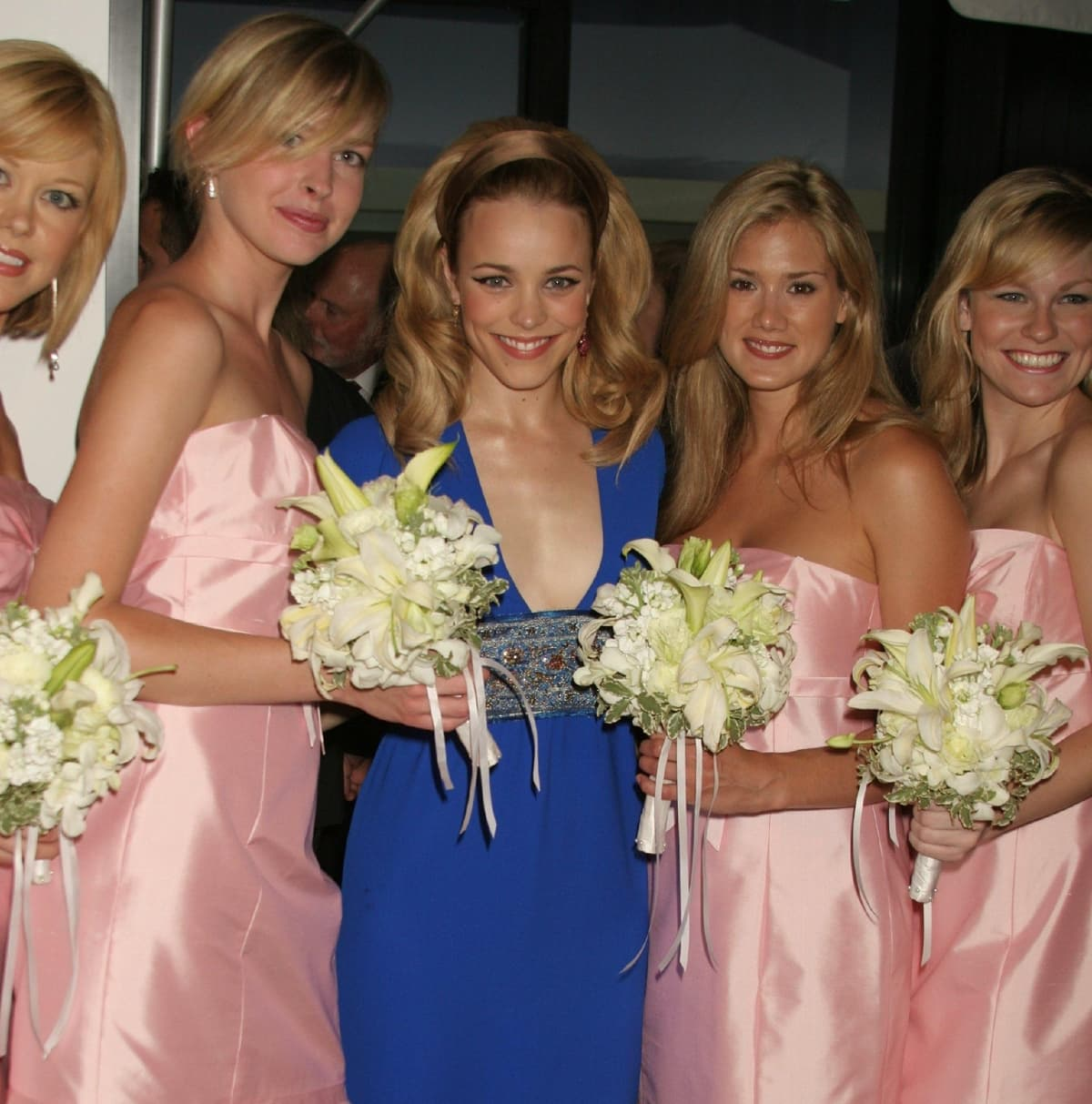 Rachel McAdams was 26 years old when attending the premiere of Wedding Crashers