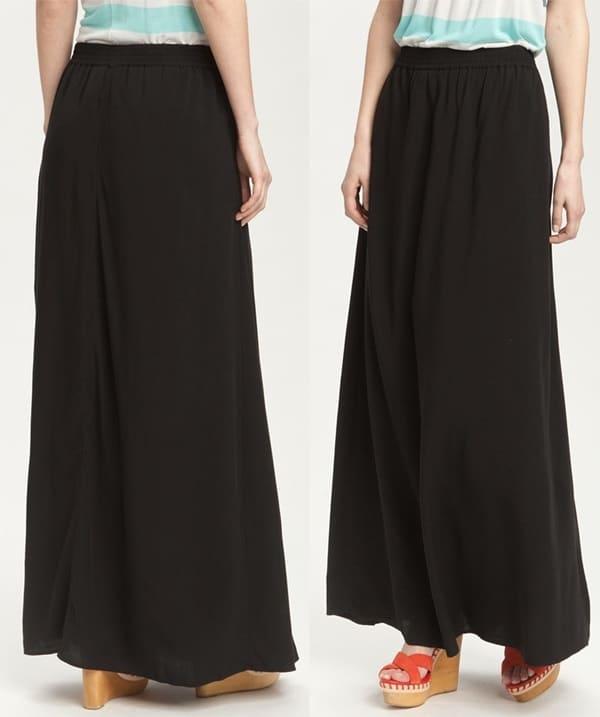 Caslon  Woven Maxi Skirt