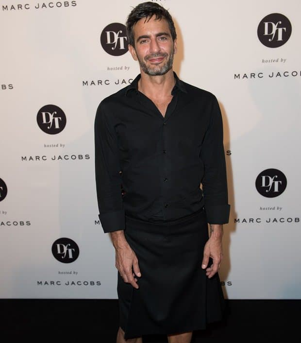 Marc Jacobs at the cocktail reception for the opening of the photo exhibition