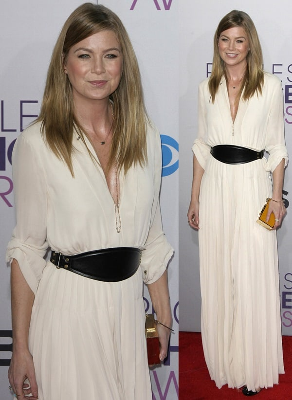 Ellen Pompeo at the 39th Annual People's Choice Awards
