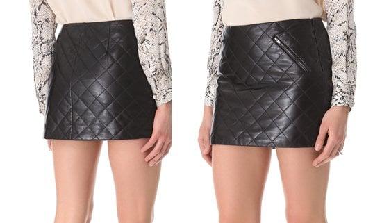 Diane von Furstenberg Quilted Skirt