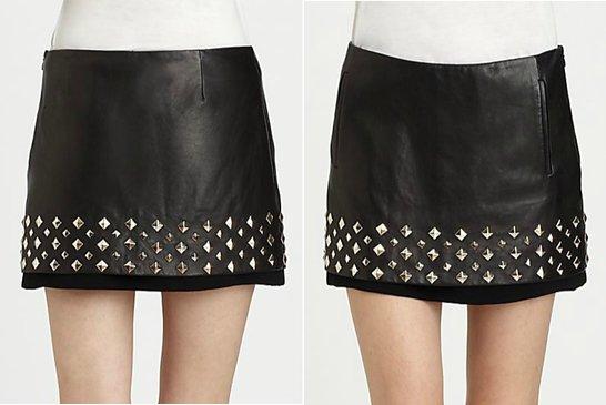 Diane von Furstenberg Studded Skirt
