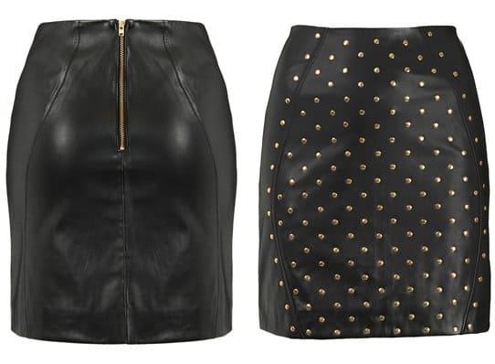 Topshop Studded Skirt