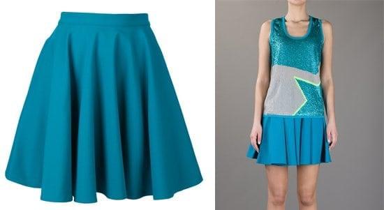 Amen Flared A-Line Skirt