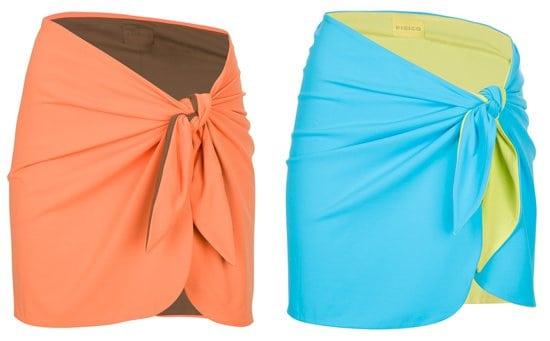 Fisico Bi Tone Wrap Skirt