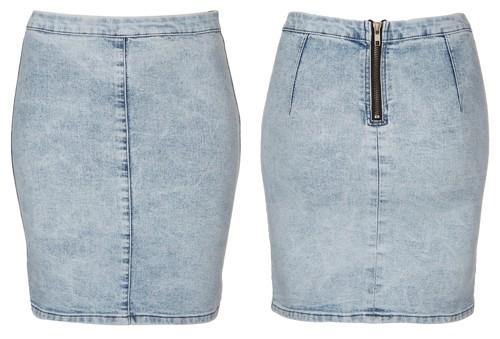 Topshop Moto Joni Denim Skirt