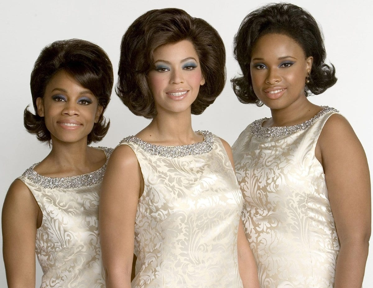 Anika Noni Rose, Beyoncé Knowles, and Jennifer Hudson star in DreamWorks Pictures' and Paramount Pictures' big-screen version of the Tony Award-winning Broadway sensation Dreamgirls