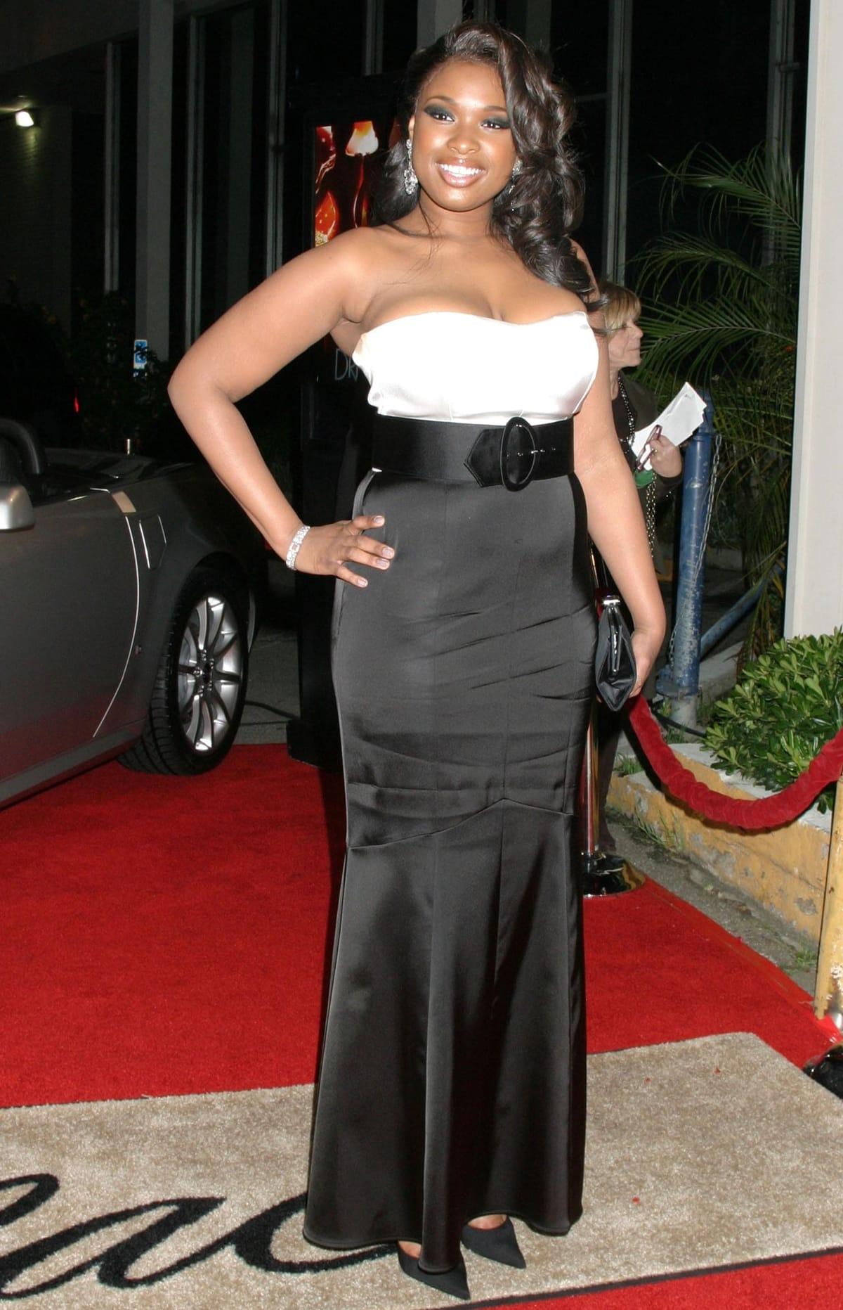 Jennifer Hudson at the Los Angeles premiere of Dreamgirls
