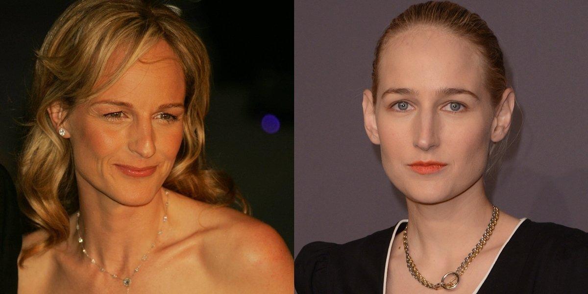 Many people believe Helen Hunt is Leelee Sobieski's mother or sister