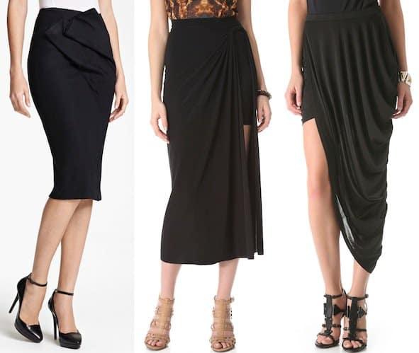 Cheaper alternatives to Jil Sander skirts