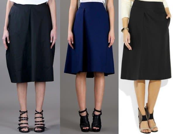 Jil Sander skirts