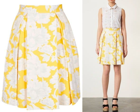 topshop-yellow-floral-skirt
