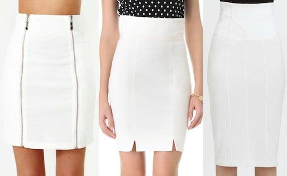 white-skirts
