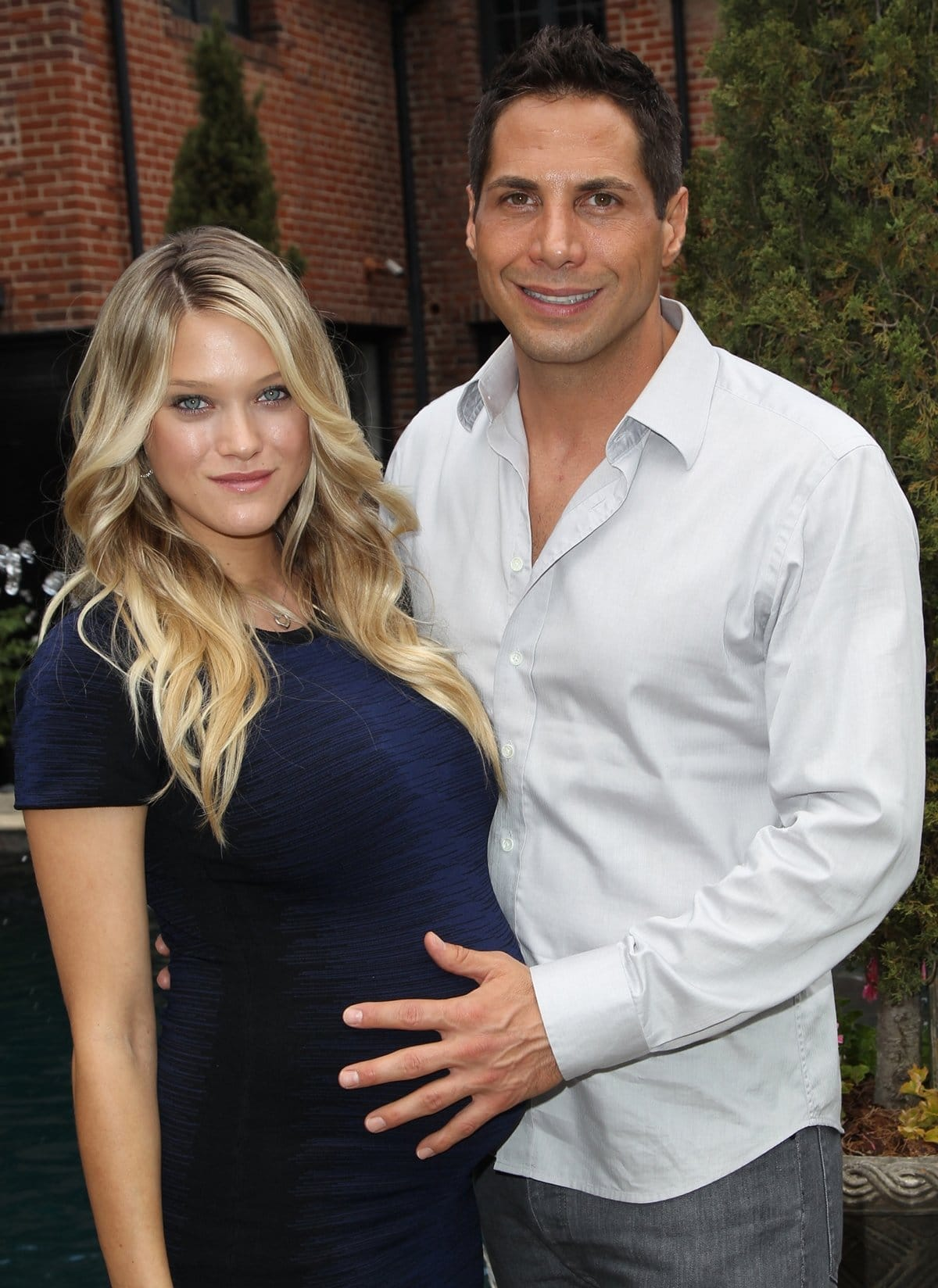 Abbey Wilson and Joe Francis are the parents of Athena Olivia Francis and Alexandria Claire Francis