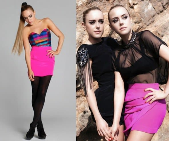 Pink Naven Skirts