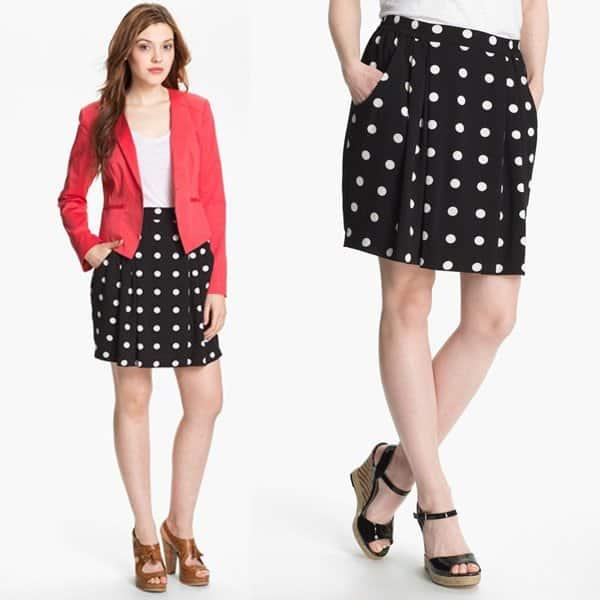 Halogen Pleat Skirt Petite
