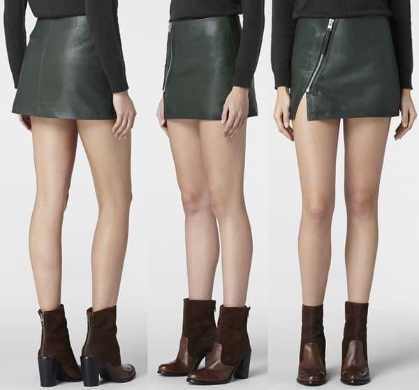 AllSaints Mini Split Lucille Skirt