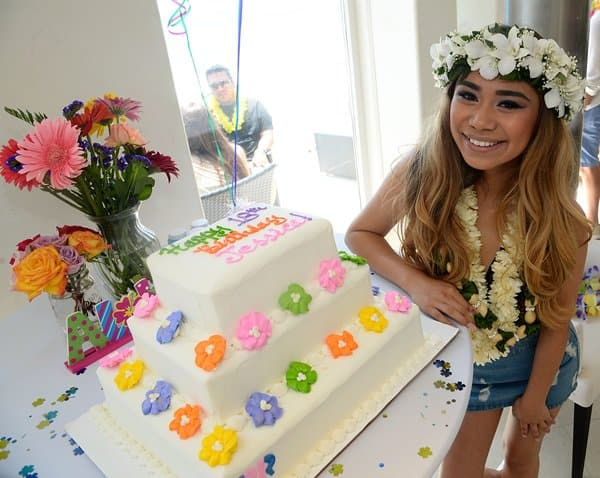 Jessica Sanchez 18th Birthday Party at The Revolve Beach House