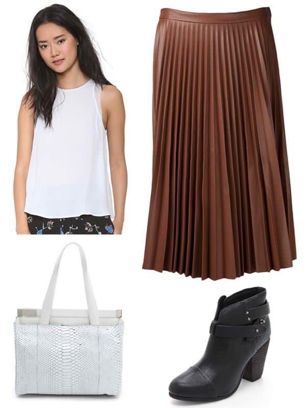 Rachel Bilson inspired outfit