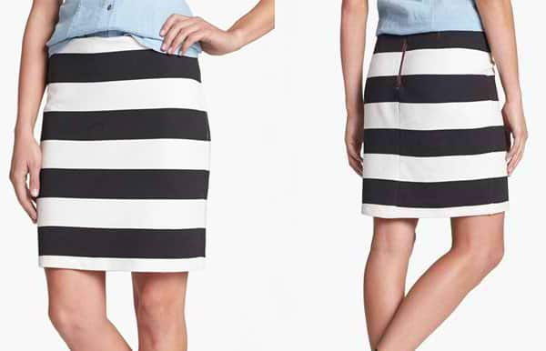 Halogen French Terry Skirt