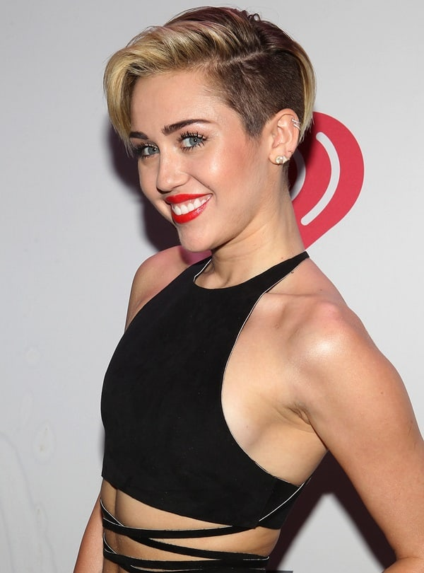 Recording artist Miley Cyrus attends KIIS FM's Jingle Ball 2013 at Staples Center on December 6, 2013 in Los Angeles, California